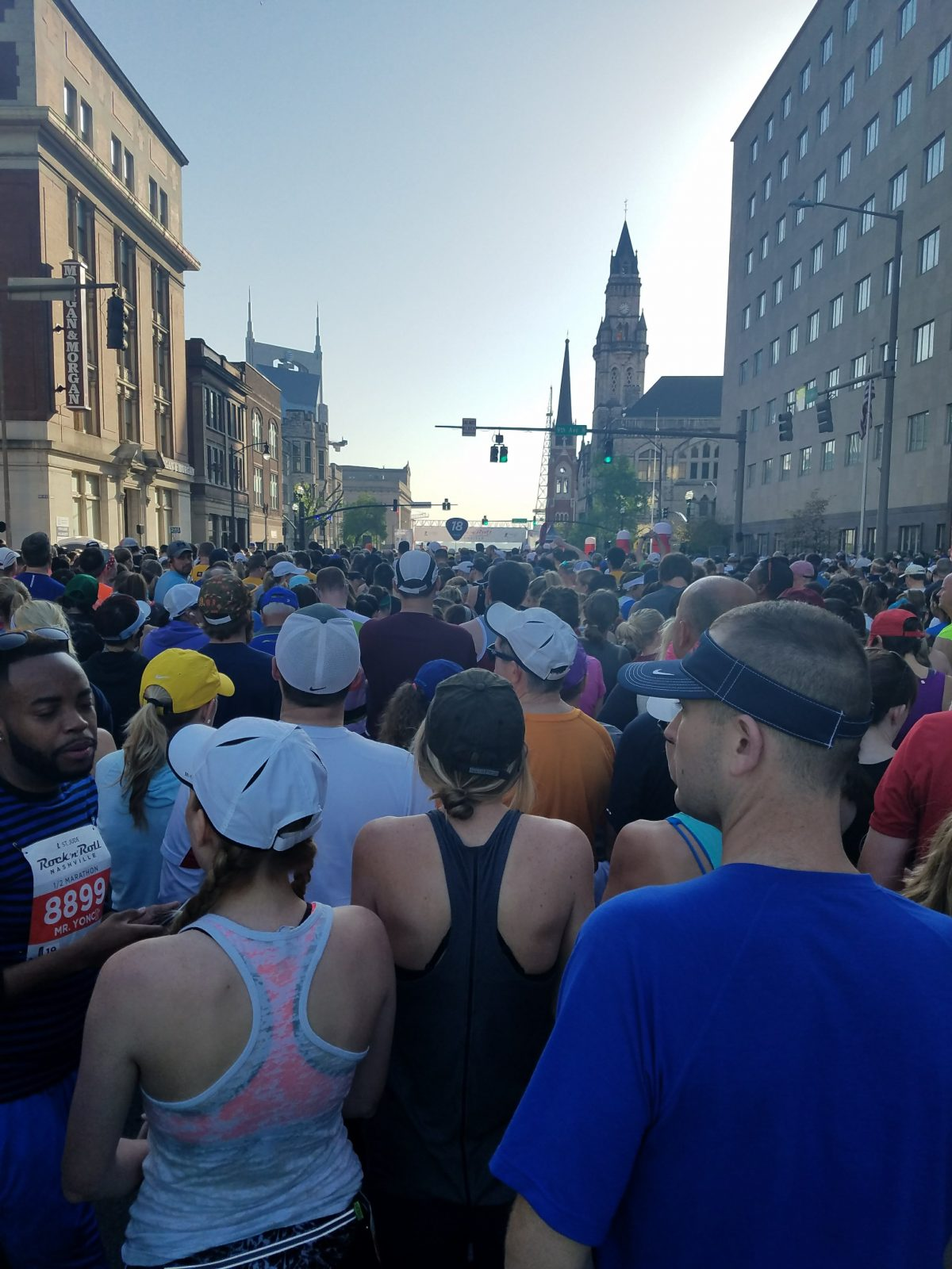 first marathon race recap