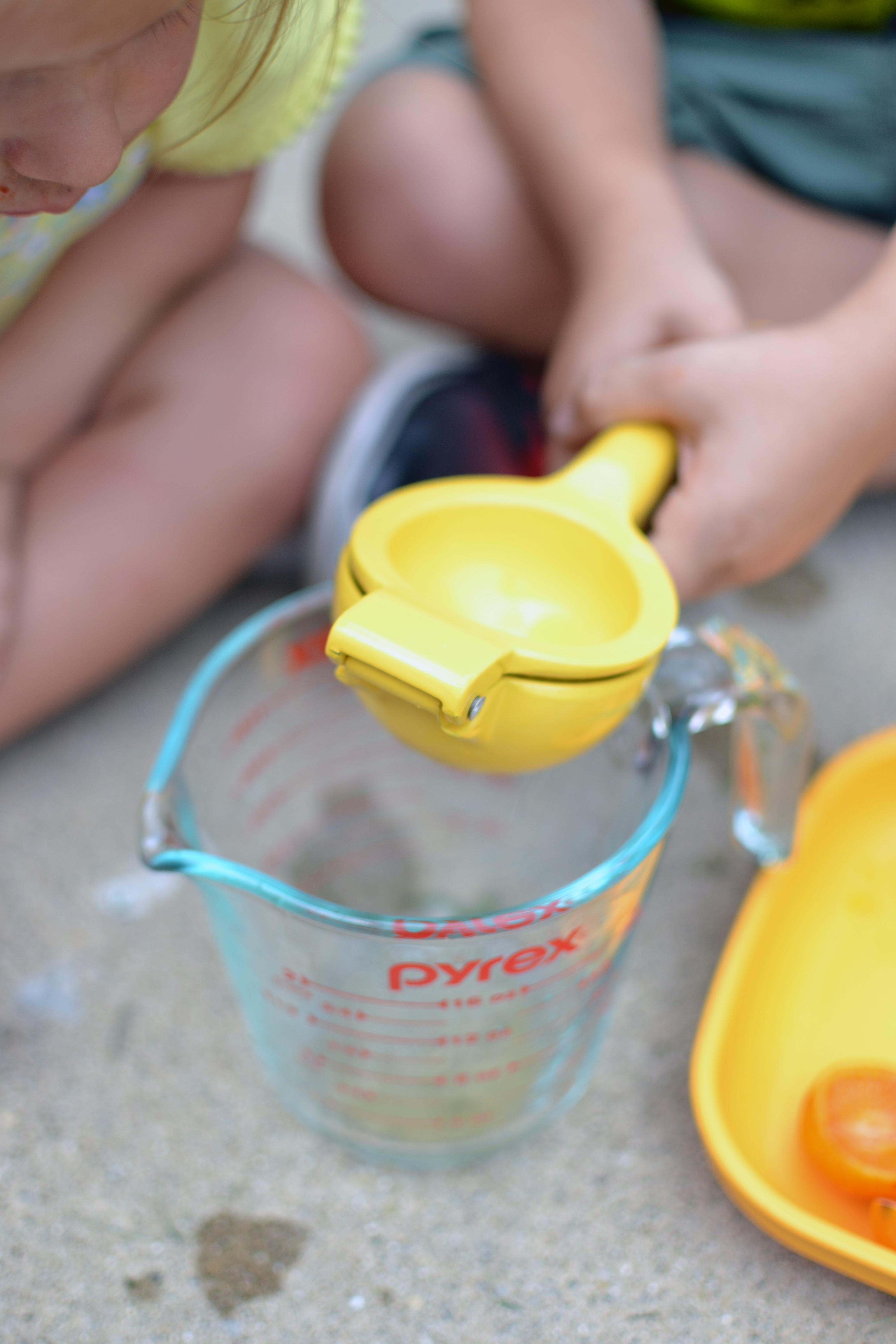 Easy summer toddler fun